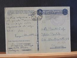 83/434  CARTLOLINA POSTALE PER LE FORZA ARMATE  1942 - 1900-44 Victor Emmanuel III
