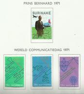 Surinam N°539 à 542 Cote 3.80 Euros - Surinam