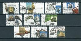 2000 Netherlands Complete Set Sail Used/gebruikt/oblitere - Periode 1980-... (Beatrix)
