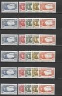 France Colonies - Grande Série Coloniale - Poste Aérienne 1940 - 6 Pays Complets 30 Timbres  ** (MNH)  Cote Maury: 42 € - France (ex-colonies & Protectorats)