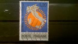 FRANCOBOLLI STAMPS ITALIA ITALY 1965 USED GIORNATA DEL FRANCOBOLLO SASSONE 1011 - 6. 1946-.. Repubblica