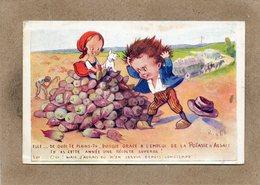 CPA - Environs De MULHOUSE (68) - Publicité Des Sels De Potasse D'Alsace - Récolte Superbe - Advertising