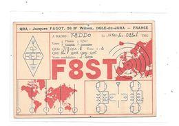 39  - Carte QSL DOL Du JURA, - Radio Amateur