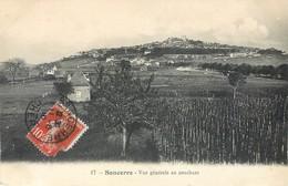 Lot 2 CPA 18 Cher Sancerre Vue Generale Et Vue Generale Au Couchant - Sancerre