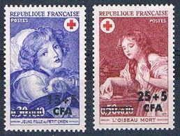 Reunion B37-38 MNH Set Children Red Cross 1971 CV 2.80 (R0471) - Reunion Island (1852-1975)