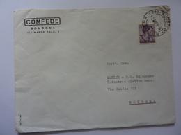 """Busta Viaggiata Pubblicitaria """"COMFEDE Bologna"""" 1963 - 1944-... Republik"""