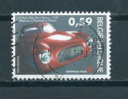 2003 Belgium Europalia Used/gebruikt/oblitere - België
