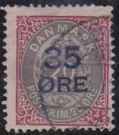 Denmark         .     Yvert  .        63          .       O      .         Gebruikt  .     /   .   Cancelled - 1864-04 (Christian IX)