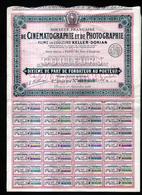 Societe Francaise De Cinematographie Et De Photographie, Films En Couleurs KELLER-DORIAN (cigogne) - Chemin De Fer & Tramway