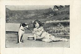 Early Advertisement Card,  Me And My Dog, Hoorn, Heidenrijk - Reclame