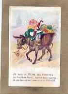 CPA - Environs De MULHOUSE (68) - Publicité Des Sels De Potasse D'Alsace - Reine Des Marchés - Advertising