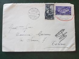 (18646) STORIA POSTALE ITALIA 1953 - 1946-60: Storia Postale