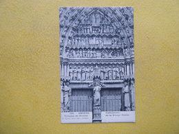 AMIENS. La Cathédrale. Le Porche De La Vierge Dorée. Le Tympan. - Amiens