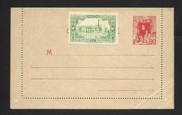 Entier Carte Lettre 90 Cts Rouge . Neuve . Complément D'affranchisement . - Covers & Documents