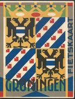 Double Carte Publicitaire GRONINGEN + Carte Géographique + Vélo Burgers Devener - Groningen