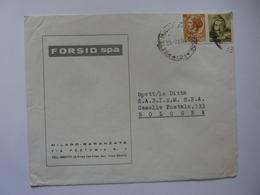 """Busta Viaggiata Pubblicitaria """"FORSID S.P.A. MILANO BARANZATE"""" 1966 - 6. 1946-.. Repubblica"""