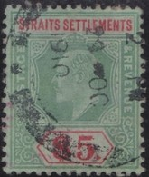 Straits Settlements    .     Yvert  .    134    .    O .           Gebruikt  .     /   .   Cancelled - Straits Settlements