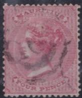 Mauritius   .     Yvert  .    25     .    O .           Gebruikt  .     /   .   Cancelled - Mauritius (...-1967)