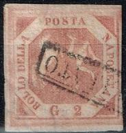 Italie - Naples - 1858 - Y&T N° 3, Oblitéré - Naples