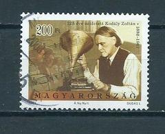 2007 Hungary Zoltan Kodaly Used/gebruikt/oblitere - Hongarije