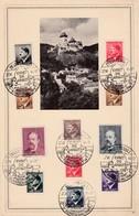 Böhmen Und Mähren Sammlerkarte 1944 - Bohême & Moravie