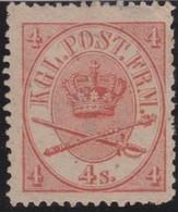 Denmark    .     Yvert  .    13        .      *    .            Ongebruikt  .     /   .    Mint-hinged - 1851-63 (Frederik VII)