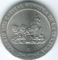 Spain - Juan Carlos - 200 Pesetas - 1991 - European Capital Of Culture - KM884 - 200 Pesetas