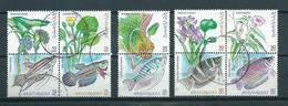 1999 Malaysia Complete Set Sealife,fish,flora,fauna Used/gebruikt/oblitere - Maleisië (1964-...)