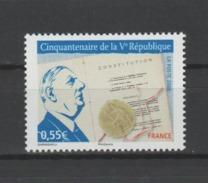 FRANCE / 2008 / Y&T N° 4282 ** : Vème République (et De Gaulle) - Gomme D'origine Intacte - Francia