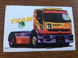 Autocollant Camion Renault - Autocollants