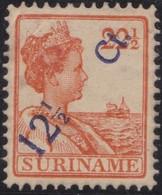 Suriname                .     Yvert  .    113     .      *    .            Ongebruikt  .     /   .    Mint-hinged - Suriname ... - 1975