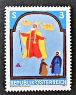 Timbre Neuf** D'autriche, N°1590 Yt, Jeunesse, Saint Nicolas - 1945-.... 2ème République