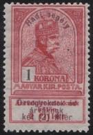 Hungary         .     Yvert  .     139      .      *    .            Ongebruikt  .     /   .    Mint-hinged - Hongarije