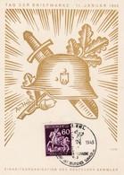 Böhmen Und Mähren - Sammlerkarte 1943 - Bohême & Moravie