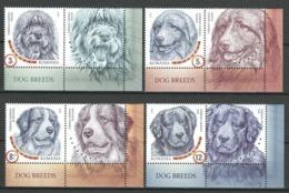 Romania 2019 MNH, Romanian Shepherd Dog Breeds, Chiens, Hunde, Fauna, Stamps + Label - MNH - XX-40 - Hunde