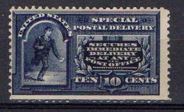 ETATS-UNIS (  EXPRES ) Y&T  N°  4  TIMBRE  NEUF  AVEC  TRACE  DE  CHARNIERE . - Unused Stamps