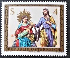 Timbre Neuf** D'autriche, N°1588 Yt, Noël, La Nativité, Santons, Figurines, Crèche - 1945-.... 2ème République