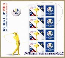 France 2018 BF La Légende Du Golf En France - RYDER CUP - MNH / Neuf - Golf