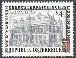 Timbre Neuf** D'autriche, N°1587 Yt, Musée Francisco Carolinum à Linz - 1945-.... 2ème République