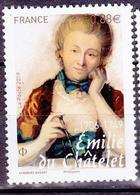 FRANCE 2019 EMILIE DU CHATELET  MNH** - Unused Stamps