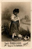 Early Advertisement Card, It's Broken, Louis Dobbelmann, Rotterdam, Real Photo - Reclame