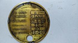 Phillips Et Pain-vermorel - Type Marine -laiton - Advertising (Porcelain) Signs