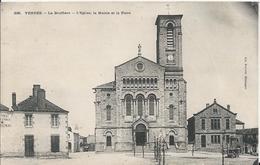 Carte Postale De La Bruffière L'eglise ,la Mairie Et La Place - France