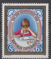 Timbre Neuf** D'autriche, N°1585 Yt, Journée Du Timbre 1983, Enfant, Lettre - 1945-.... 2ème République