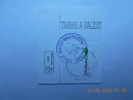 FRANCE 2015   YTN°5012    CONFERENCE PARIS CLIMAT     Timbre Neuf Oblitéré  Coin De Feuille - France