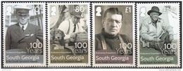 South Georgia & South Sandwich Islands 2016 100 Ans Expédition Endurance Ernest Shackleton Neuf ** - Géorgie Du Sud