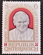 Timbre Neuf** D'autriche, N°1580 Yt, Visite Du Pape Jean Paul II - 1945-.... 2ème République
