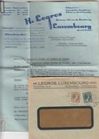 COVER. LETTRE. LUXEMBOURG. 1932. H.LEGROS NEGOCIANT EN POMME DE TERRE - Ohne Zuordnung