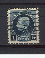 BELGIQUE - Y&T N° 215° - Albert 1er - Perfin - Perforé - 1909-34