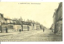 60 - RIBECOURT / ROUTE DE COMPIEGNE - Altri Comuni